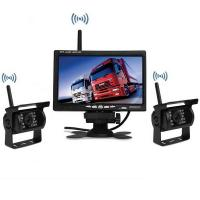 Buy cheap 7Inch Monitor Truck wireless dash camera Rear View Camera System with 2 reverse cameras from wholesalers