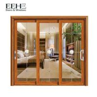 Buy cheap Space Saving Aluminum Frame Sliding Glass Doors For Residential Color Optional from wholesalers