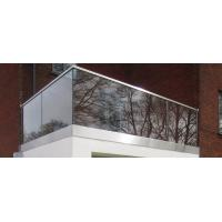 Buy cheap U channel Glass Veranda Aluminum Railing product