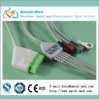 Buy cheap BSM-2301/BSM-2353/BSM-5100 Nihon Kohden ecg cable with leadwires product