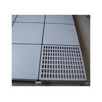 Buy cheap 30mm or 35mm thickness cement core panel HPL Anti Static Raised Floor For Network Room  from wholesalers