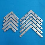 Buy cheap Customized Size LED Light Fixture Parts Metal Corner Bracket Lock Hardware Of Light Box from wholesalers