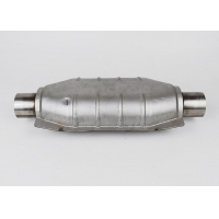 Buy cheap Oval SS409 Car Catalytic Converter from wholesalers