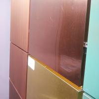 Buy cheap Multi Color Copper Composite Panel 600mm * 800mm * 3mm For Wall Decoration product
