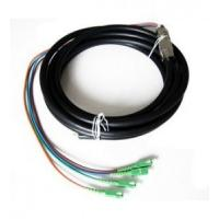 Buy cheap Outdoor Waterproof Fiber Optic Pigtail Anti Corrosion Strong Tensile Ability from wholesalers