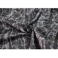 Buy cheap Digital Printed Apparel Fabric / Printed Polyester Fabric Soft Touch from wholesalers