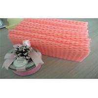 Buy cheap EPE Foam Recyclable Fruit Foam Net Fruit Protective Packaging , Red And White Color from wholesalers
