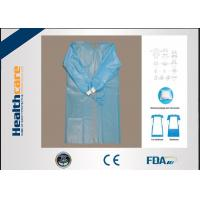 Buy cheap SMS/SMMS Disposable Surgical Gowns Medical Supply Antibacterial Scrub Suit S/M/L/XL from wholesalers