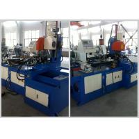 Buy cheap Handle Bar Steel Tube Cutting Machine , Full Automatic Metal Tube Cutting Machine from wholesalers