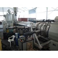 Buy cheap Under Ground HDPE Drainge Solid Pipe Machine 800kg/h Max Output Easy To Operate from wholesalers