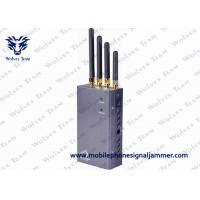 Buy cheap 5 Band Portable 3G Cell Phone Signal Jammer HS Code 8543709200 Black product