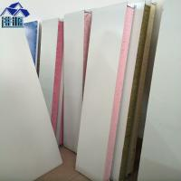 Buy cheap sound insulation 75mm PU foam sandwich panel walls board for container house from wholesalers