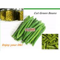 Buy cheap New Crop Organic Canned Vegetables Green Beans 400G No Artificial Colors from wholesalers