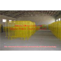 Buy cheap Crowd Control Barrier  Galvanised Crowd Control Barrier from wholesalers