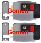 Buy cheap 12VDC Low Noise Electric Rim Door Lock , Apartment Doors Automatic Door Lock from wholesalers