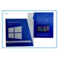 Buy cheap Windows 8.1 Pro 32 64 Bit Full Version Windows Pro Retail Online Activation from wholesalers