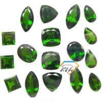 Buy cheap Natural Chrome Diopside Gemstones Pears For Peridot Rings 4x6mm from wholesalers