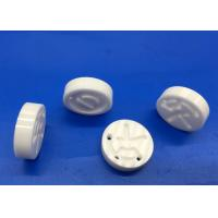 Buy cheap Zirconia Ceramic Disc / Round  Ceramic Block with Holes Slot Pattern Design from wholesalers
