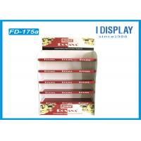 Buy cheap Foldable Corrugated Pop Displays Floor Stands For Shopping Mall from wholesalers