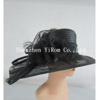Buy cheap YRSM14134 dress hat,organza hat,church hat,kentucky derby hat,ascot hat,race hat from wholesalers