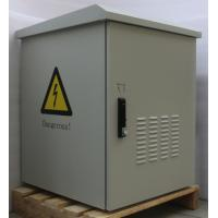 Buy cheap 15U Waterproof Outdoor Wall Mount Cabinet Enclosure Custom Metal With 2 Fan Cooling from wholesalers