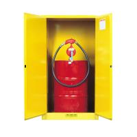 Buy cheap High Durability 55 Gallon Drum Fire Cabinet Equipped With 50mm Height Leakage Proof Sump from wholesalers