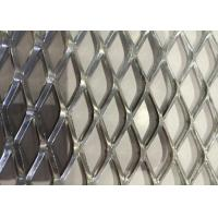 Buy cheap Heavy Decoration Expanded Metal Wire Mesh , Steel Diamond Mesh 0 . 8 MM Thickness from wholesalers
