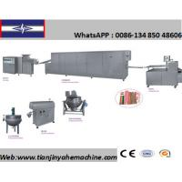 Buy cheap Stainless Steel Made Soft Candy Strip Production Line from wholesalers