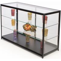 Buy cheap 60 Inch Cell Phone Display Cabinet With Sliding Door Adjustable Shelves from wholesalers