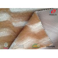 Buy cheap Custom Design Crushed Velvet Sofa Fabric , Short Plush Velvet Upholstery Fabric from wholesalers