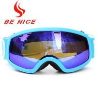 Buy cheap Popular Winter Outdoor Children'S Ski Goggles , Blue Photochromic Ski Goggles from wholesalers