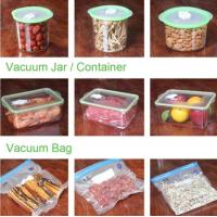 Buy cheap VACUUM JAR, VACUUM CONTAINER, channel vacuum pouch food storage bag, Safety food grade vacuum storage bag, home used vac from wholesalers