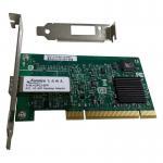 Buy cheap 1G PCI Single Port SFP Slot Network Adapter 1000Mbps Fiber Optic Intel 82545EB Chipset Desktop PC Network Interface Card from wholesalers
