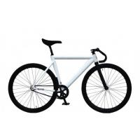 Buy cheap Customized Decal Single Speed Challenge Fixie Track Bike Alloy Frame Bicycle from wholesalers
