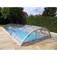 Buy cheap Safety Polycarbonate Low Line Retractable Telescopic Swimming Pool Enclosure from wholesalers