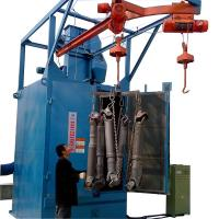 Buy cheap Hanging Hooks Shot Blast Cleaning Machine , Large Sandblasting Equipment from wholesalers