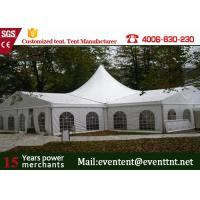 Buy cheap One Stop White High Peak Tent Fire Retardant Wtih Gardens Party Decorations from wholesalers