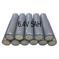 Buy cheap 6.4V 5AH Flashlight Lithium Iron Phosphate Batteries , Torch Light Use from wholesalers