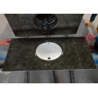 Buy cheap Custom Black Granite Overlay Countertops Anti - Stain With Backsplashes from wholesalers