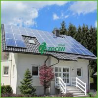 Buy cheap 12KW Polycrystalline Commercial House Grid Tie Solar Power Systems from wholesalers
