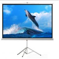 Buy cheap Cynthia Screen 72 inch 16:9 Tripod Projection Screen Matte White Portable Outdoor Screen from wholesalers