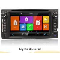 Buy cheap 6.2 Toyota Universal Car Gps Navigation System With 2 Din Touch Screen Car Radio Dvd from wholesalers