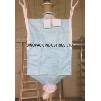 Buy cheap Type D Fibc CROHMIQ blue / white for chemical powder transportation from wholesalers