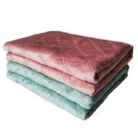 Buy cheap 100% Polyester 3D Embossed Flannel Blanket Very Soft Throw Blanket Tear - Resistant from wholesalers
