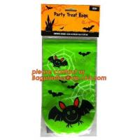 Buy cheap Halloween Candy Bag Basket Trick or Treat Pumpkin Tote Bag for Kids,gift decoration item Halloween cellophane treat bag from wholesalers