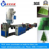 Buy cheap Decoration Artificial Christmas Tree Pet Pine Needle Filament Making Machine from wholesalers