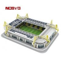 Quality 3D Football Stadium Replica Paper Model | Fun & Educational Toys for sale