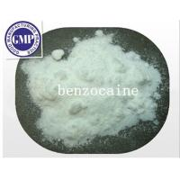Buy cheap CAS 94-09-7 C22H27N3O 99% Purity Benzocaine Raw Steroid Powders White Powders from wholesalers
