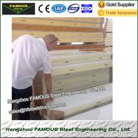 Buy cheap Pu sandwich panels for Cold Room Heat Insulation from wholesalers