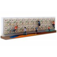 Buy cheap Eco Friendly Wooden Climbing Wall 114 Cm Length 3 Mm Thickness Custom Design from wholesalers